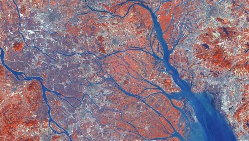 pearl river delta satellite