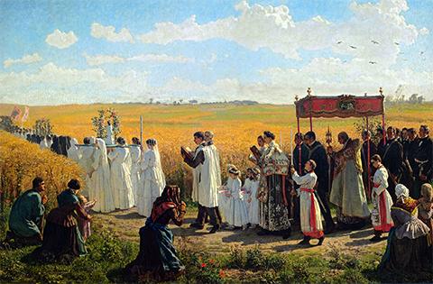 Jules Breton Artois, 1857