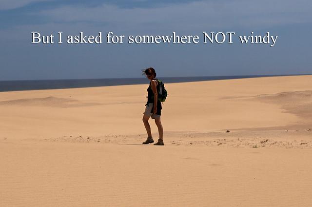 Not windy Fuerteventura