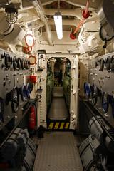 E-Maschinenraum, dahinter der Dieselraum