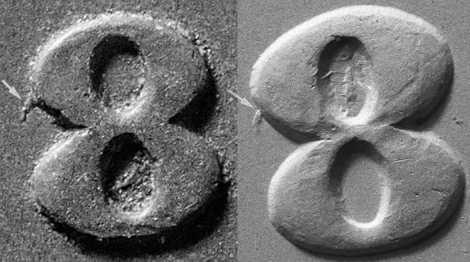 Comparison of 1899 S-2 to 1888 S-2