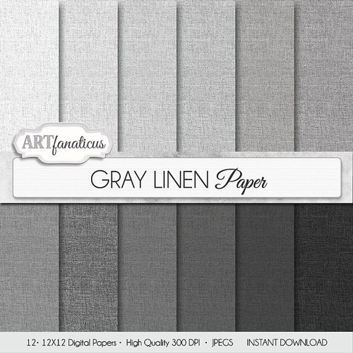 how to create a linen finish paper
