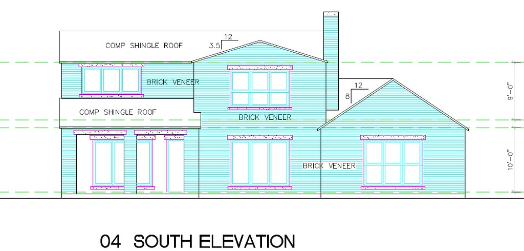 The Preppy Modern House - Exterior Elevations - It's Great ...