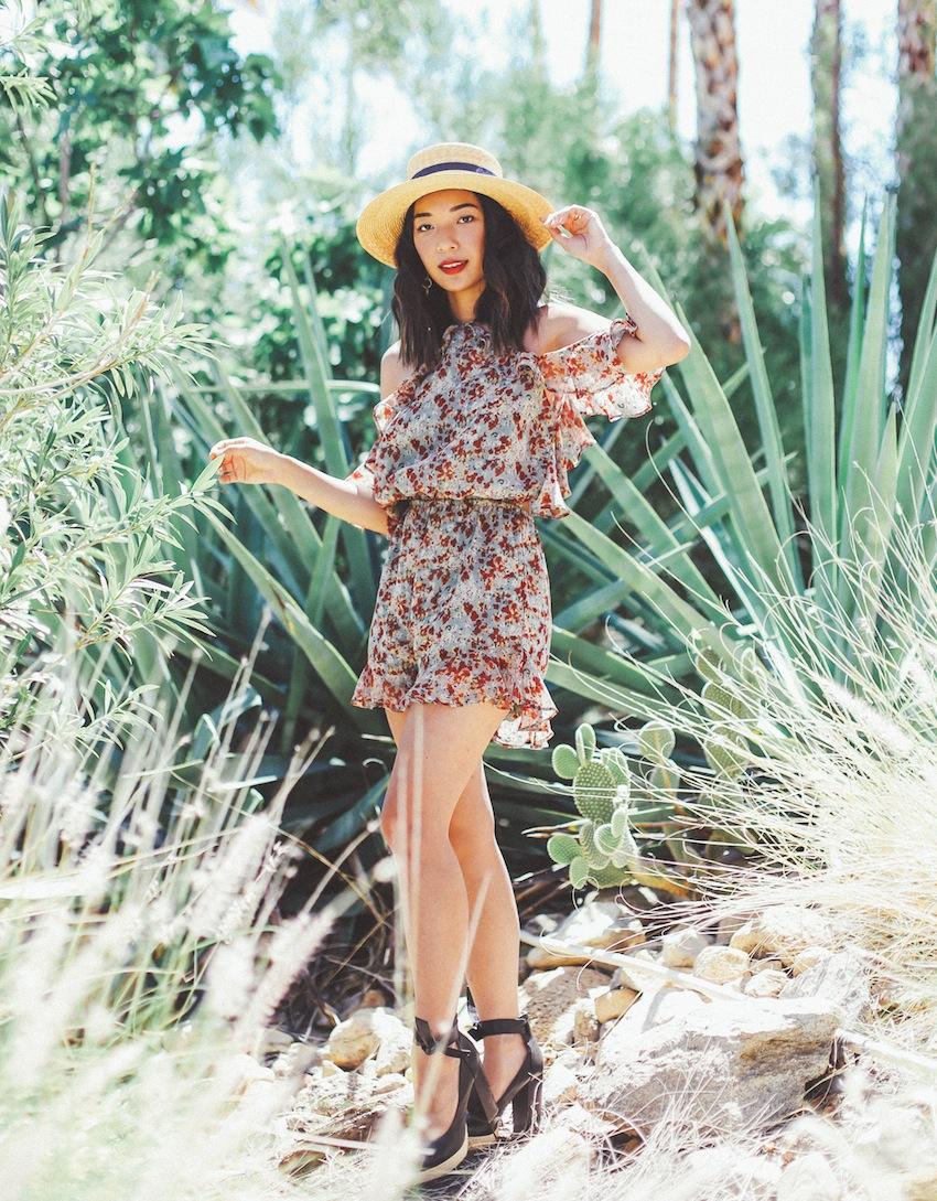 Stephanie Liu of Honey & Silk wearing Tularosa and Raye