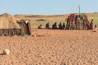 Himba people der Kunene-Region