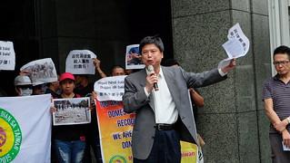 中菲抗議菲律賓屠殺農民