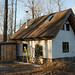 Straw Bale Cottage & Cistern Shed