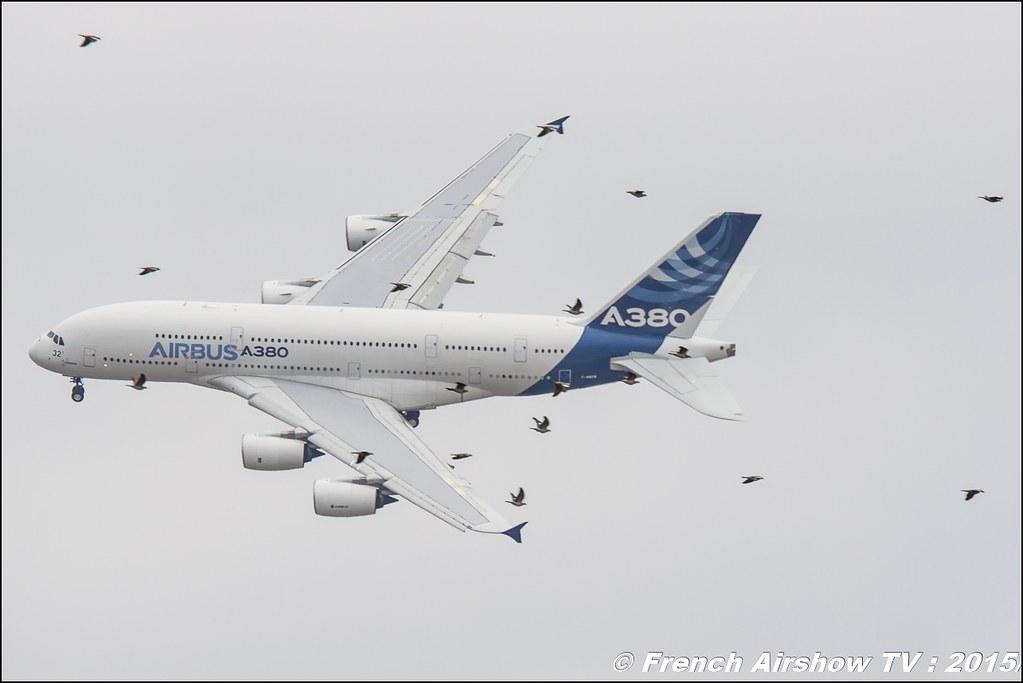 Airbus A380 Salon du Bourget Sigma France Paris Airshow 2015