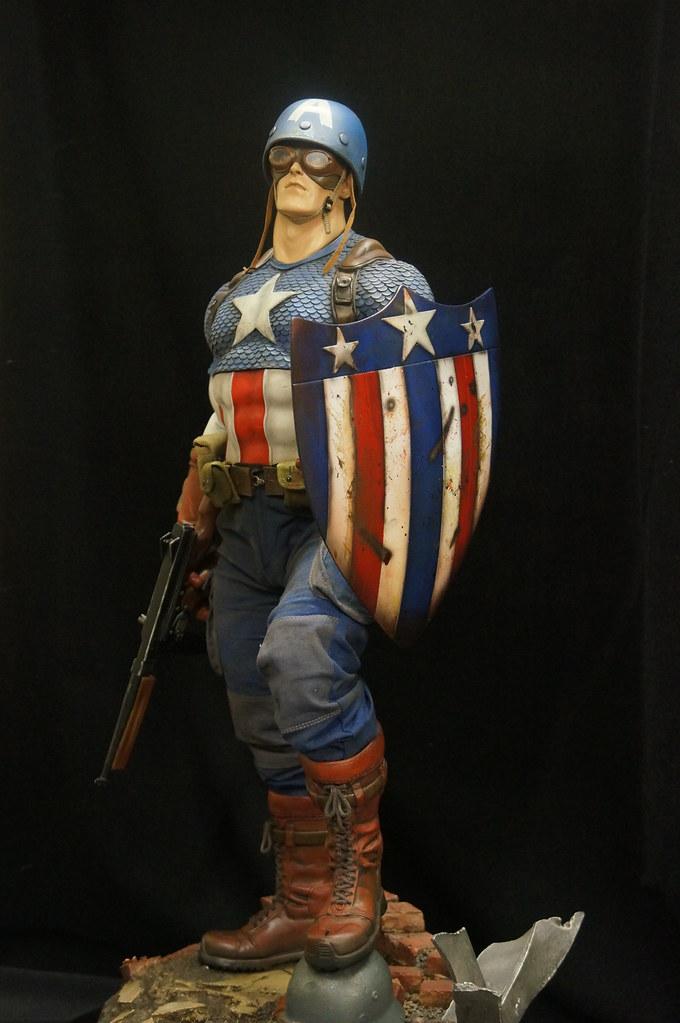 Custom Captain America Premium Format  24907912713_d57f582096_b