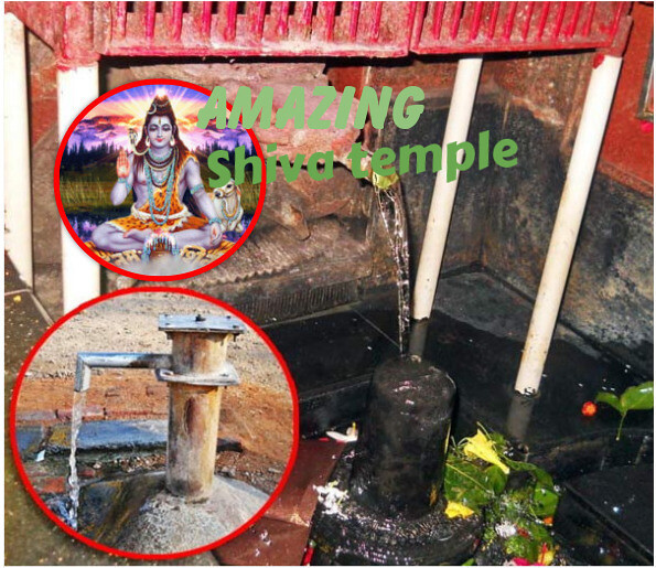 Tuti Jharna Mandir, mysterious Shiva temple