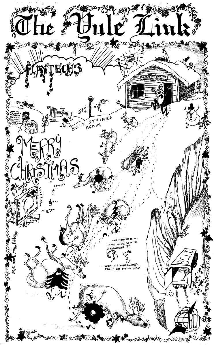 Yule Link from December 1965.