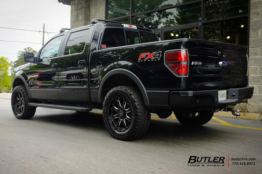Ford F150 With 20in Black Rhino Sierra Wheels And Bfgoodri