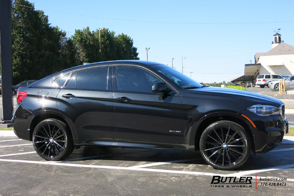 Bmw X6 With 22in Lexani Pegasus Wheels And Pirelli Scorpio Flickr