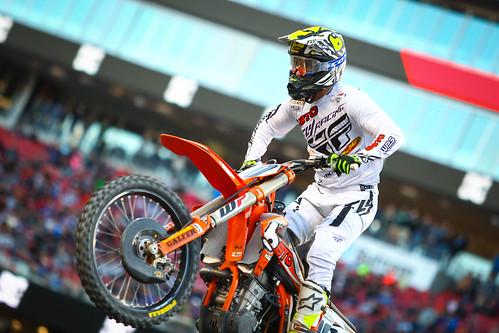 Justin Brayton Metlife Supercross