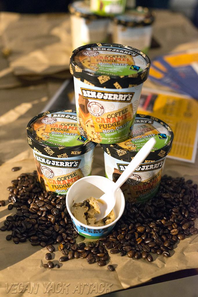 Ben & Jerry's Vegan Coffee Caramel Fudge