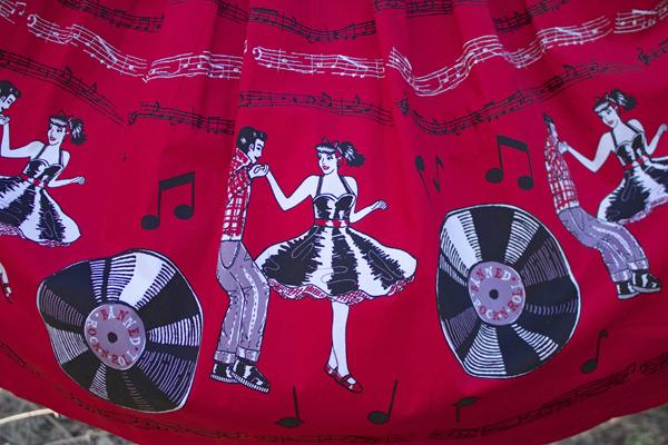 rockabilly skirt banned