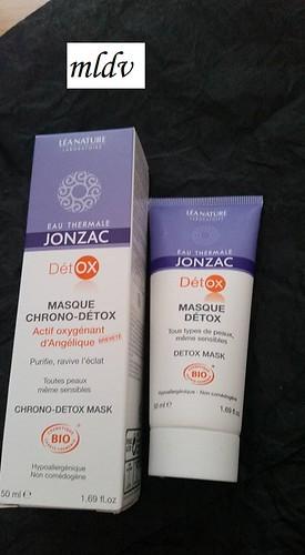 masque Chrono-Détox eau thermale jonzac