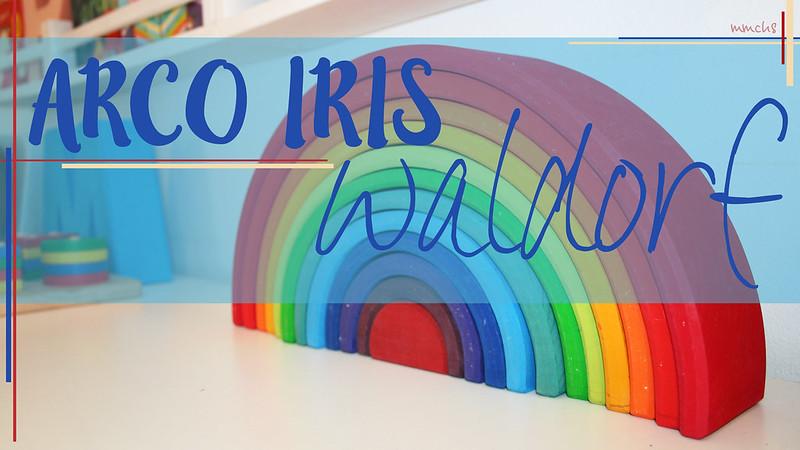 arco iris waldorf gigante