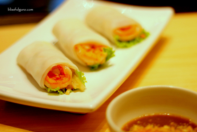 Mian Marriott Grand Ballroom Lumpia Sariwa