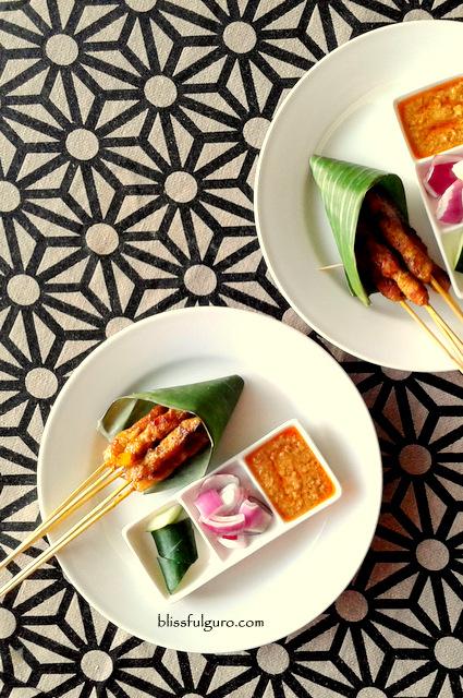 Hotel H2O Manila Makan Makan Satay