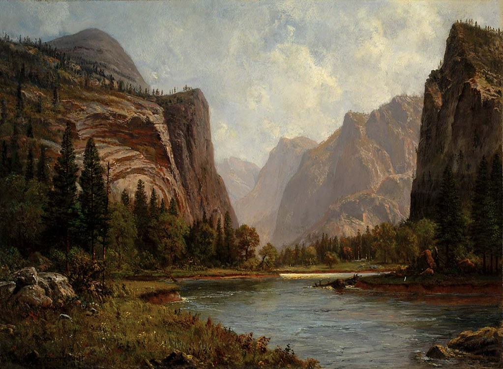 Gates of Yosemite by Albert Bierstadt c.1882
