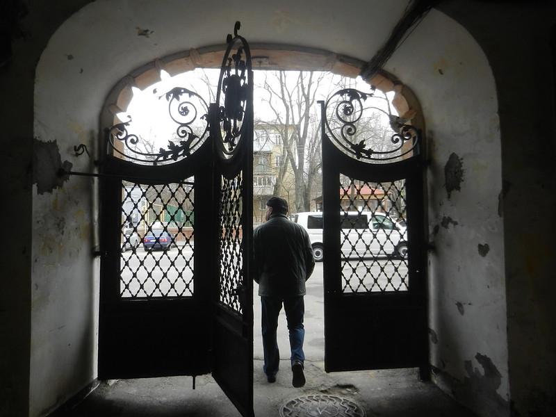 Дворами Одессы