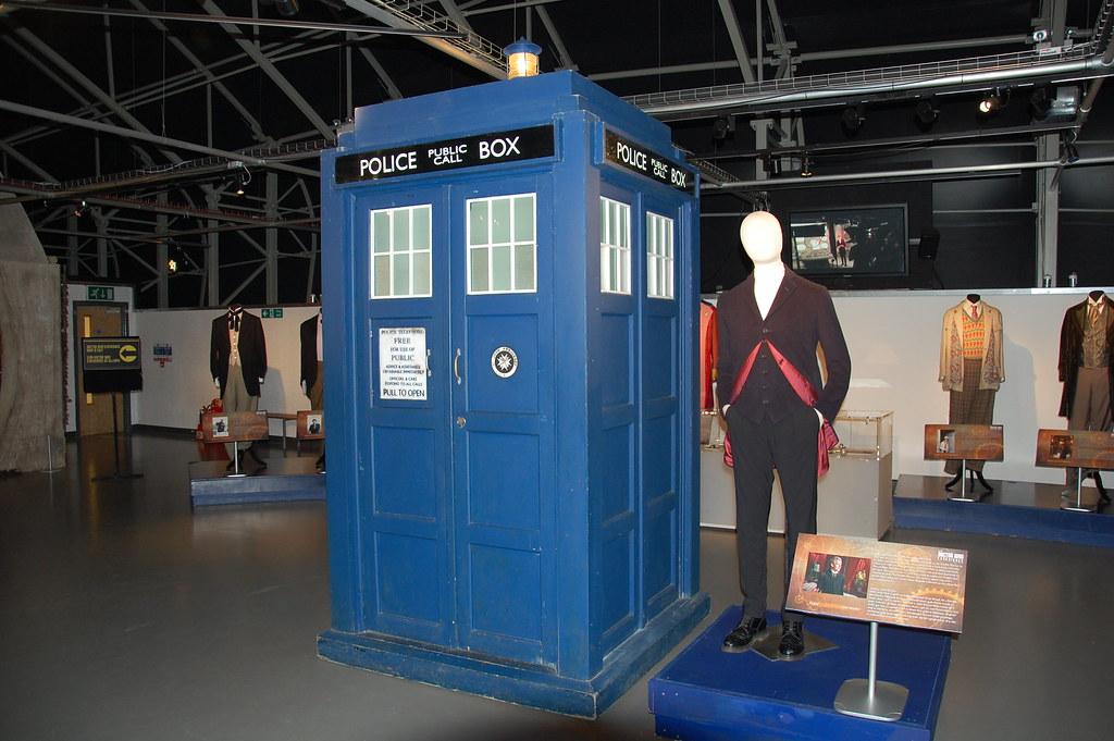 Traje de Peter Capaldi como el Doctor Who