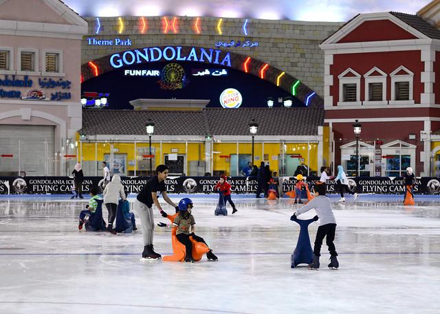 Pista de patinaje sobre hielo en Doha