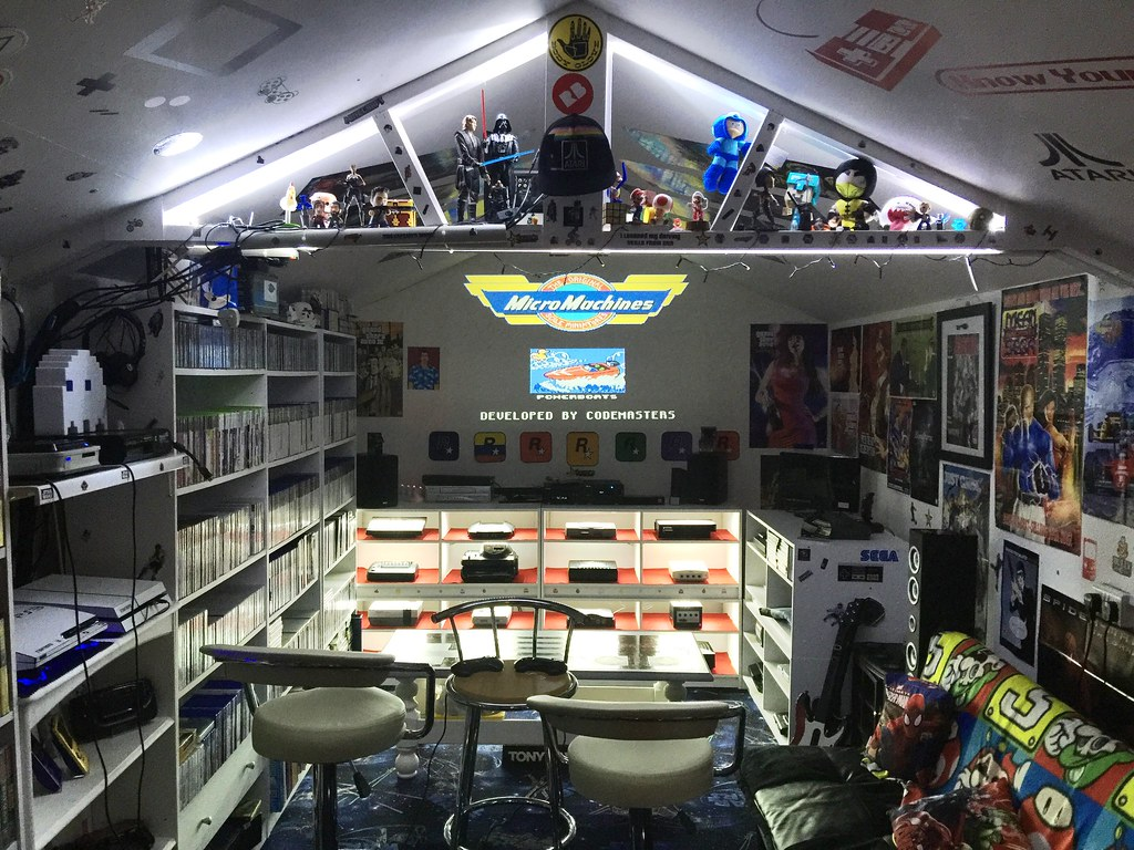 Atari  Games Room