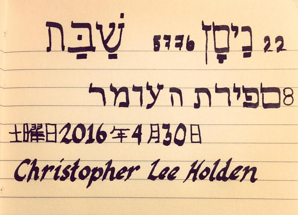 Today's hebrew date