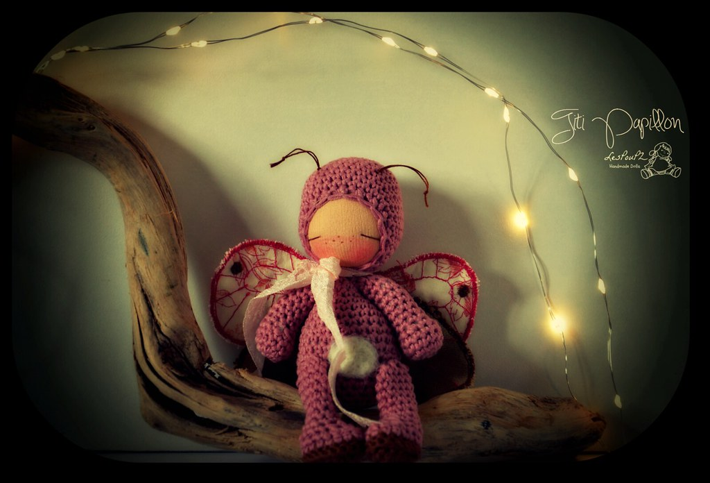 Titi Papillon, by LesPouPZ Handmade Dolls
