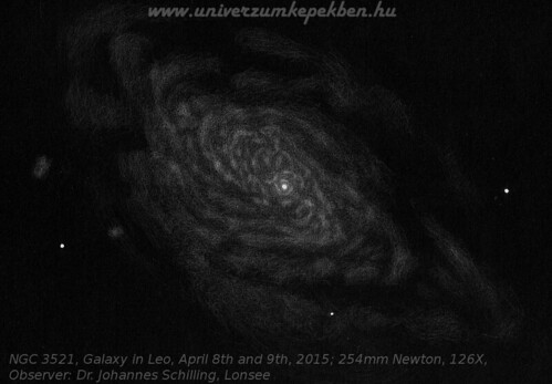 NGC 3521, Galaxy in Leo - Dr.Johannes Schilling, Lonsee