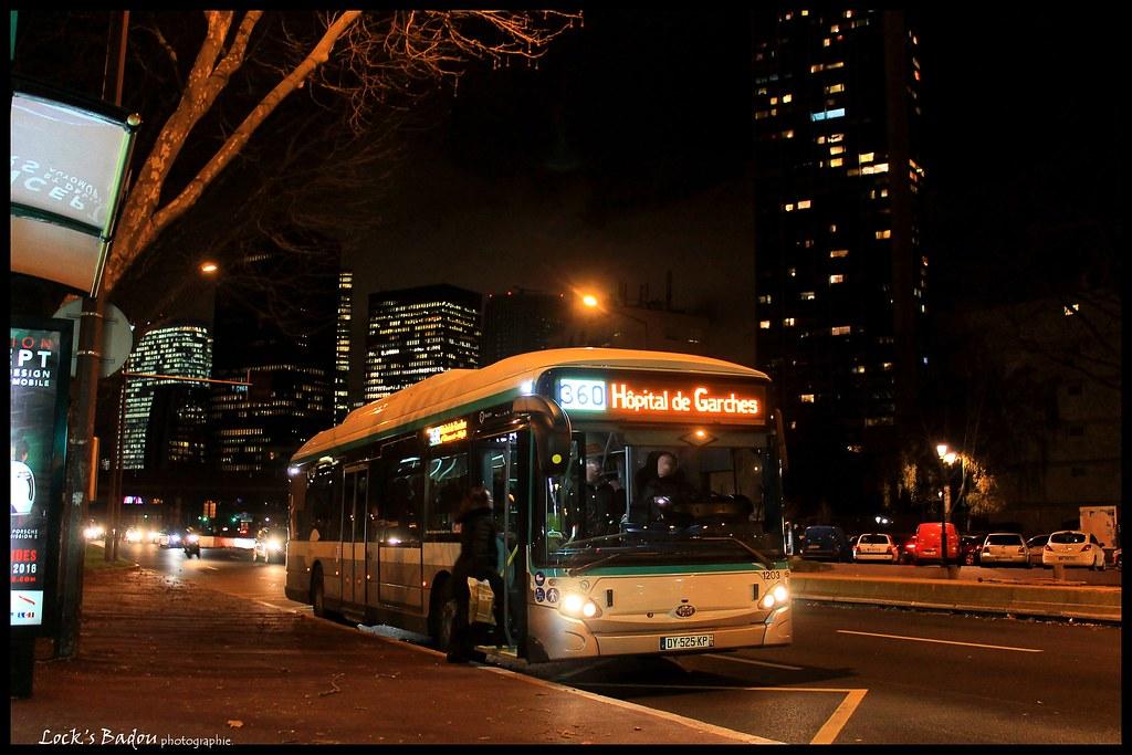 ratp bus ligne 360 hb gx337 hybride puteaux l flickr. Black Bedroom Furniture Sets. Home Design Ideas