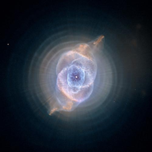VCSE - Macskaszem-köd - HST/NASA