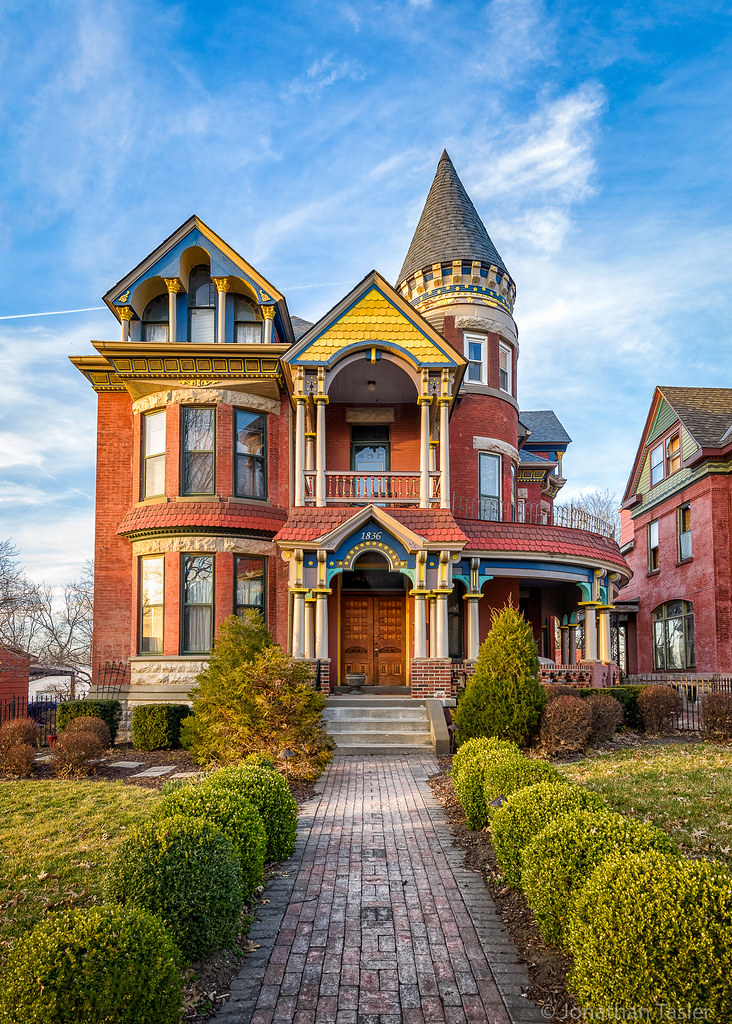 Kansas City Painted Lady I 39 D Score This House A Perfect