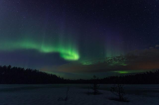 Aurora Boreal en Oulu