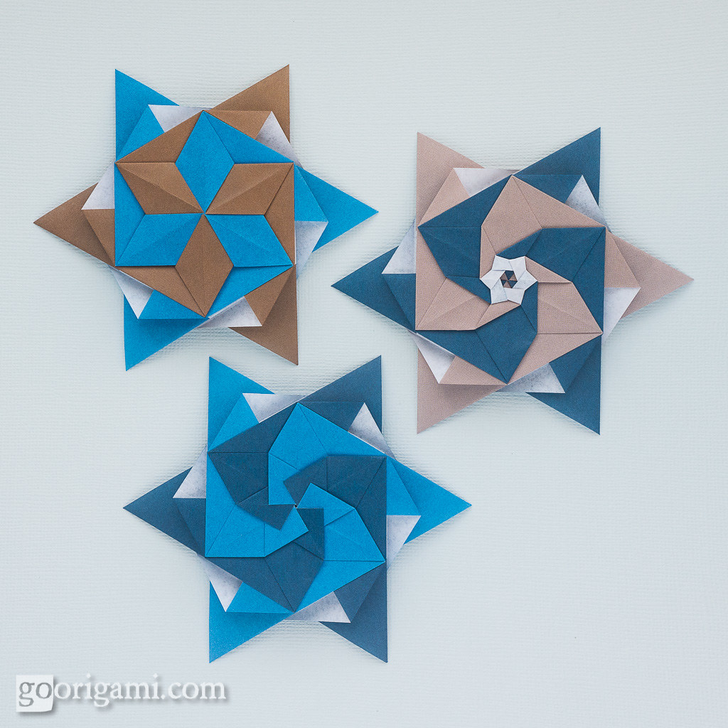 Modular Origami Stars   Modular Origami Stars (Maria ... - photo#21