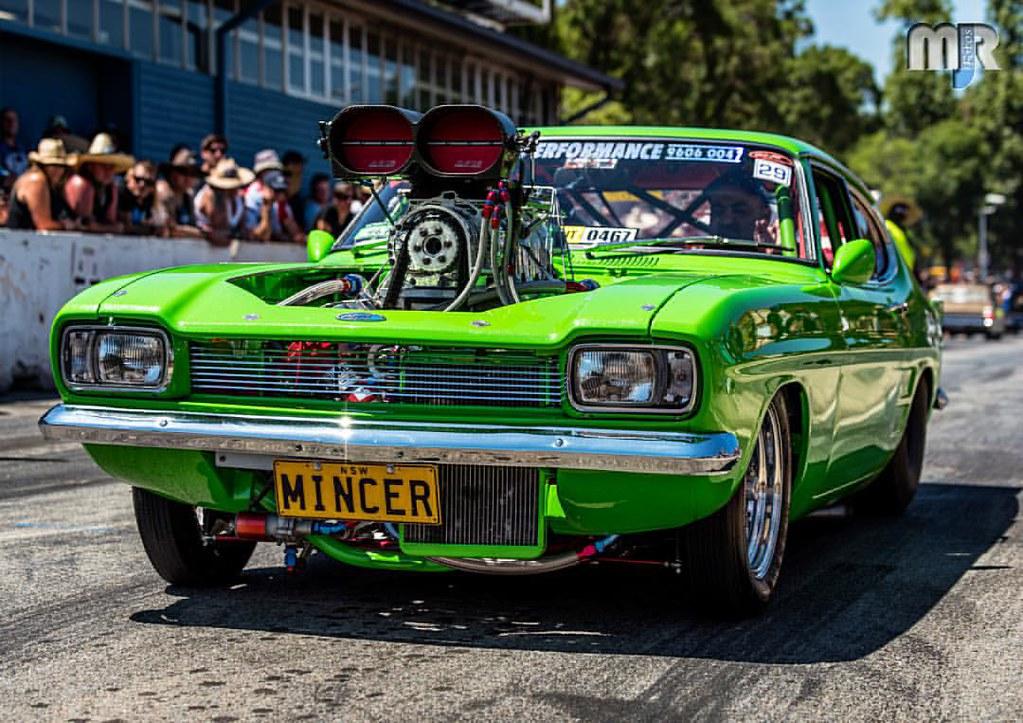 Mincer Ford Capri Blown V8 Tuffasfuk Tuff Aussie