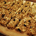 Chewy oat and date bars