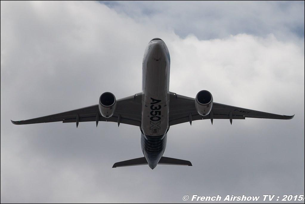 Airbus A350 XWB Salon du Bourget Sigma France Paris Airshow 2015
