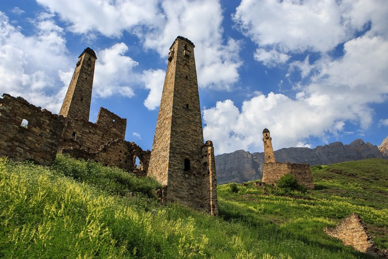 Ingushetia Towers