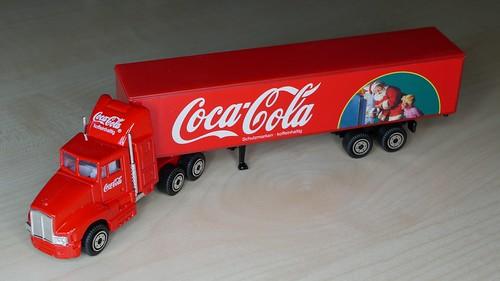 Coca-Cola Weihnachts-Minitruck