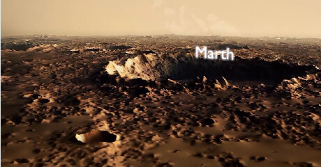 ESA releases 3D video take you to understand Mars ' surface