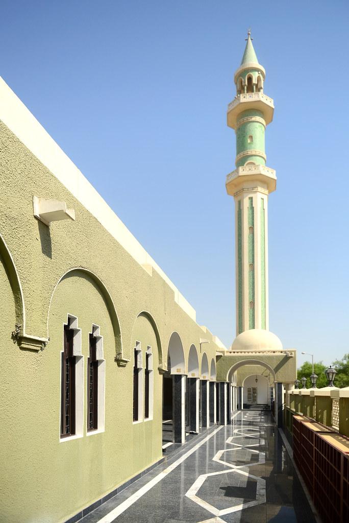 Una de las mezquitas de Qatar