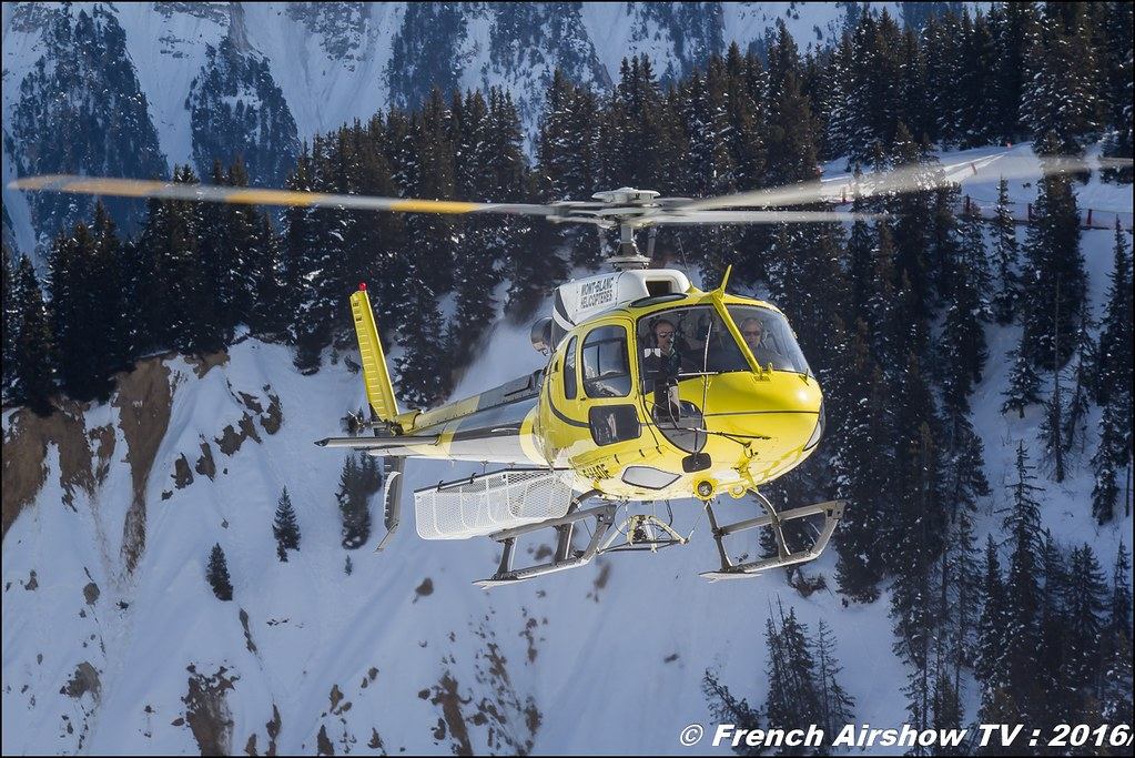 Eurocopter AS-350 B3 - F-HADE , Mont Blanc Hélicoptères, Salon Hélicoptère à Courchevel 2016, Meeting Aerien 2016