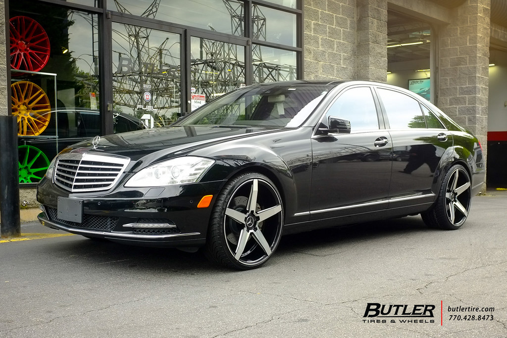 Mercedes s550 with 22in savini bm11 wheels view for Mercedes benz atlanta jobs