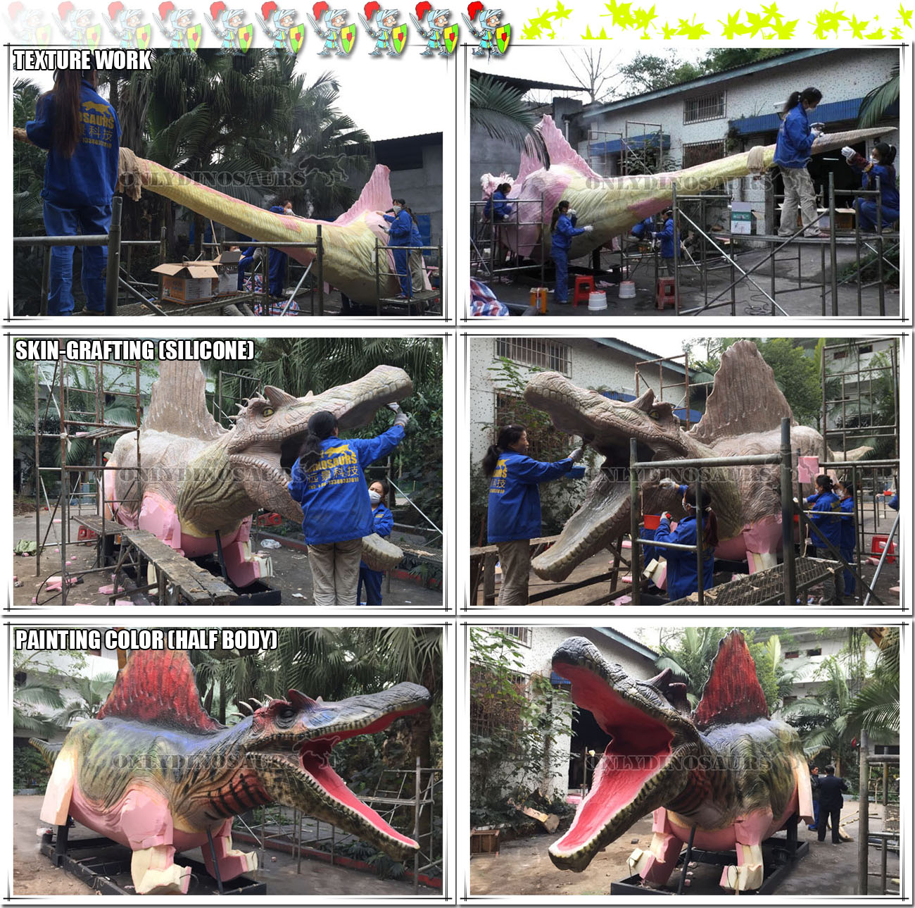 Refined Work for Animatronic Spinosaurus