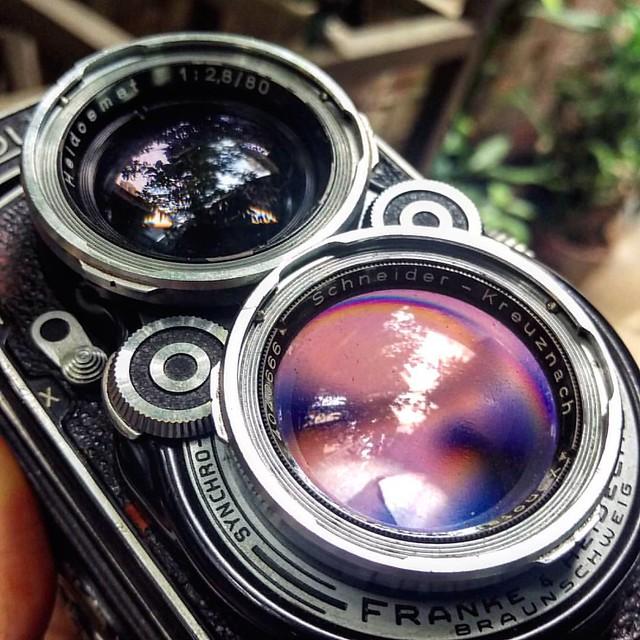 Rolleiflex 2.8C Xenotar 80mm f2.8的味道