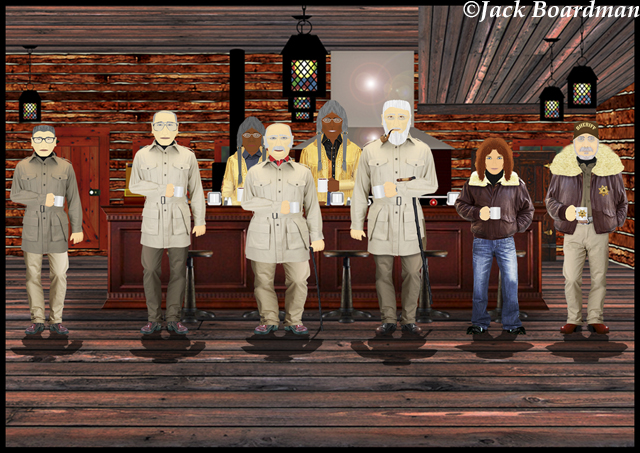 Inside Silverthorn's Café ©Jack Boardman