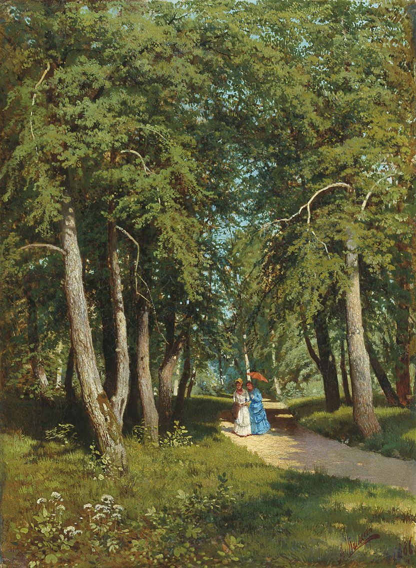 In the Park by Andrei Shilder, 1886